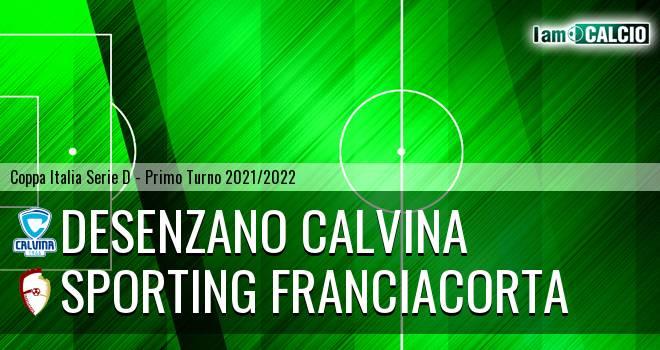 Desenzano Calvina - Sporting Franciacorta