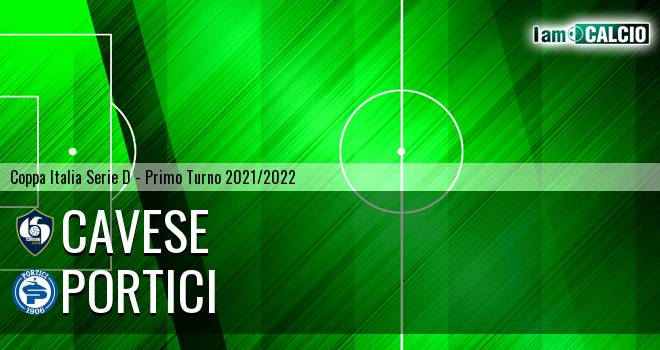 Cavese - Portici 2-0. Cronaca Diretta 22/09/2021