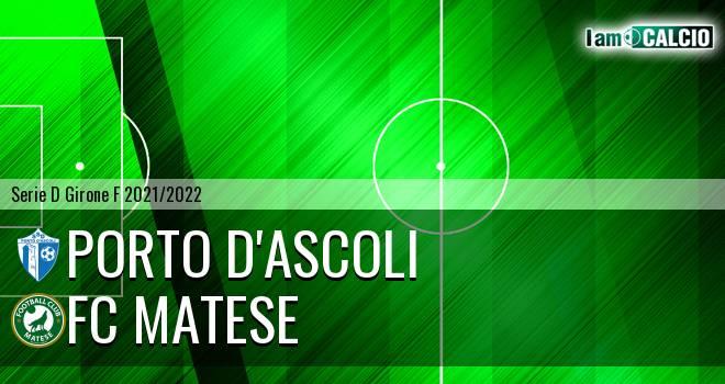 Porto D'Ascoli - FC Matese