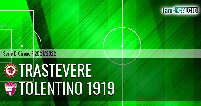 Trastevere - Tolentino 1919