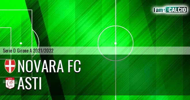 Novara FC - Asti 1-1. Cronaca Diretta 19/09/2021