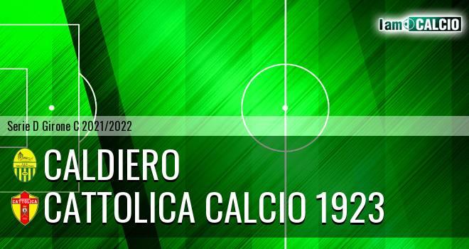 Caldiero - Cattolica Calcio 1923
