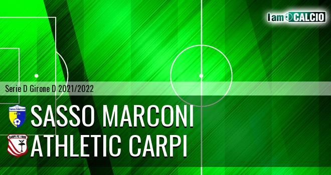 Sasso Marconi - Athletic Carpi