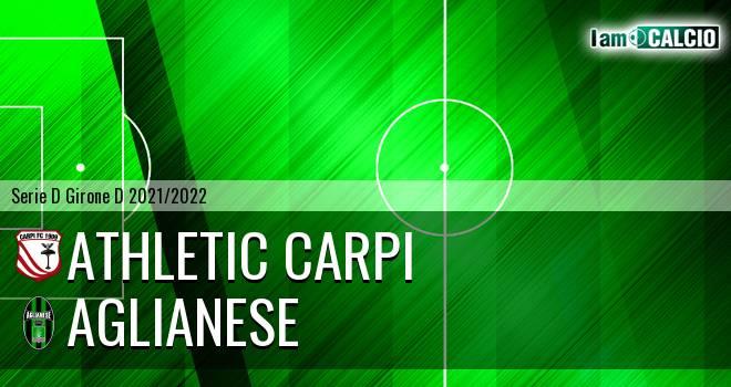 Athletic Carpi - Aglianese