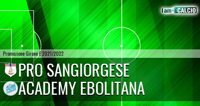 Pro Sangiorgese - Academy Ebolitana