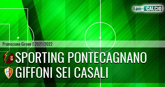 Sporting Pontecagnano - Giffoni Sei Casali