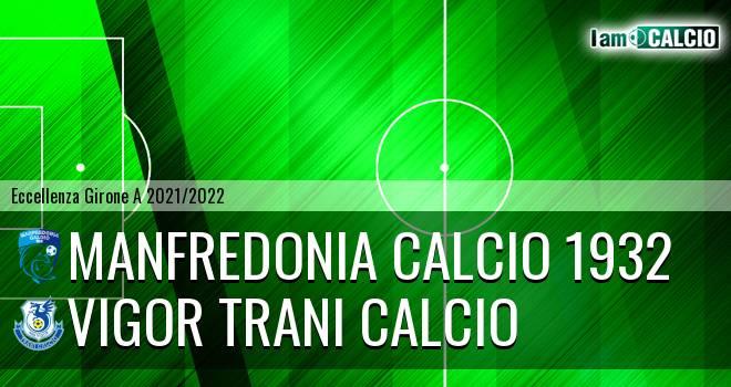 Manfredonia Calcio 1932 - Vigor Trani Calcio