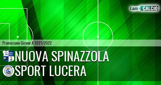 Nuova Spinazzola - Sport Lucera