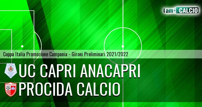 Uc Capri Anacapri - Procida Calcio