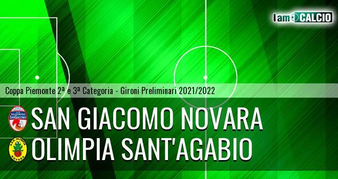 San Giacomo Novara - Olimpia Sant'Agabio