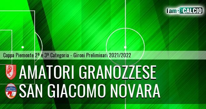Amatori Granozzese - San Giacomo Novara