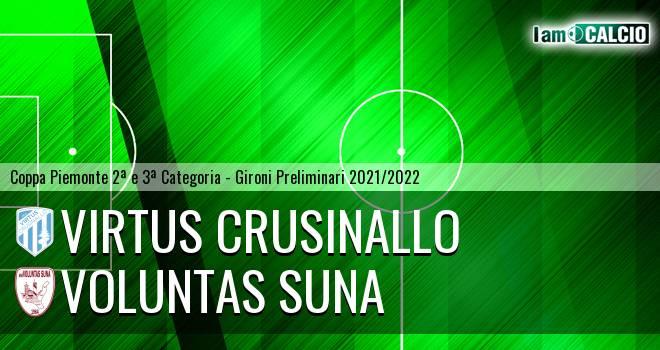 Virtus Crusinallo - Voluntas Suna