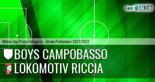 Boys Campobasso - Lokomotiv Riccia