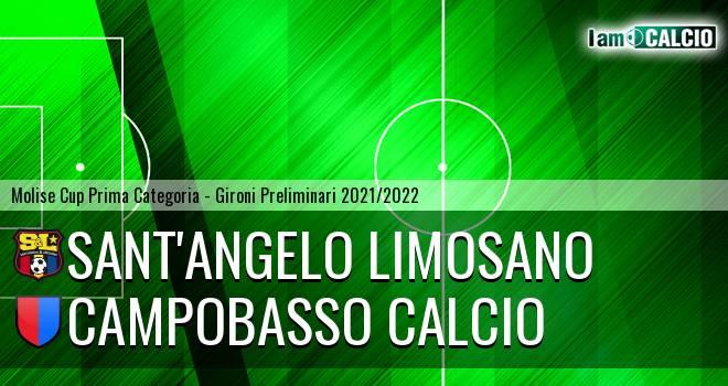 Sant'Angelo Limosano - Campobasso Calcio
