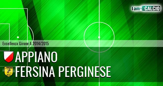 Appiano - Fersina Perginese