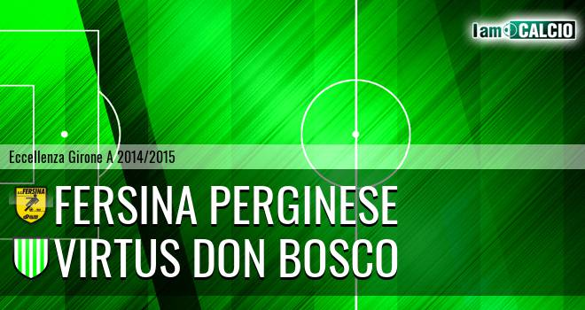 Fersina Perginese - Virtus Don Bosco