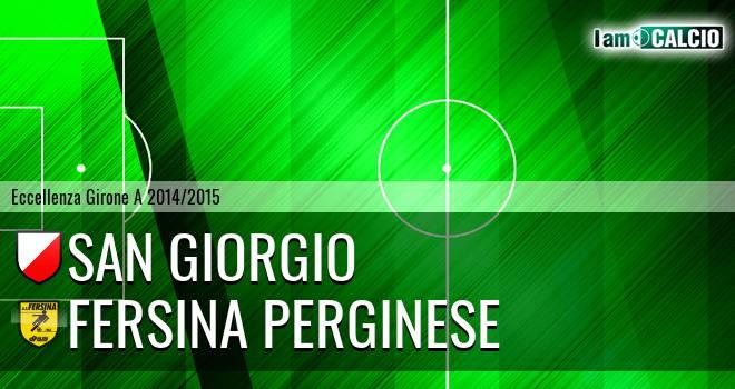 San Giorgio - Fersina Perginese