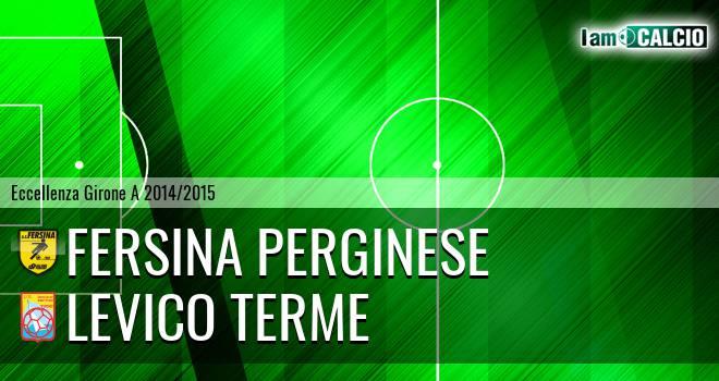 Fersina Perginese - Levico Terme