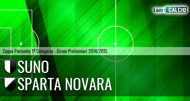 1924 Suno - Sparta Novara 1-0. Cronaca Diretta 28/08/2014