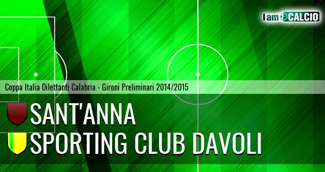 Sant'Anna - Sporting Club Davoli