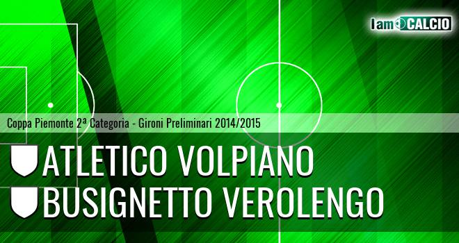 Atletico Volpiano - Busignetto Verolengo
