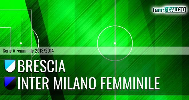 Brescia - Inter Milano Femminile