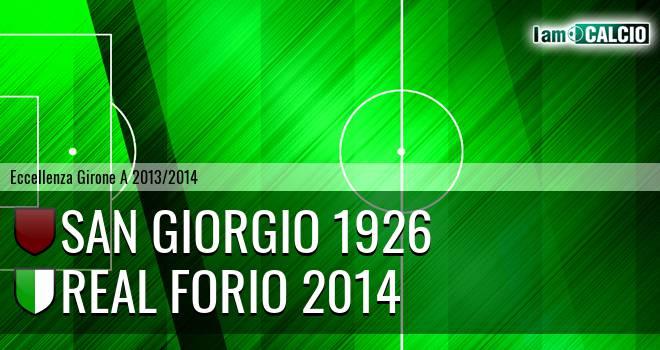 San Giorgio 1926 - Real Forio 2014