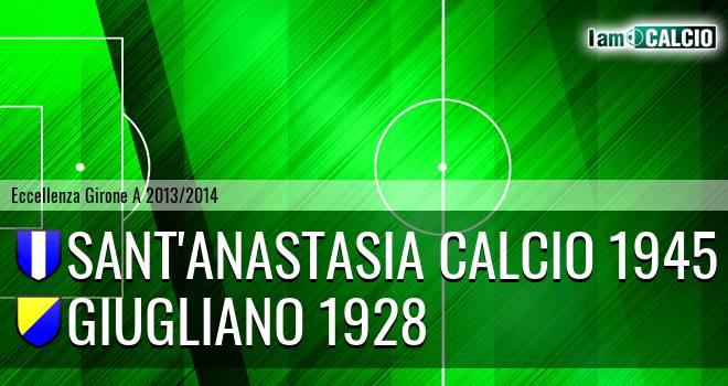 Sant'Anastasia Calcio 1945 - Giugliano 1928