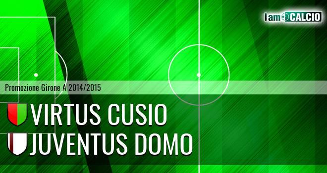 Virtus Cusio - Juventus Domo