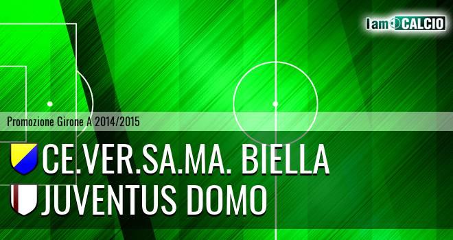 Ce.Ver.Sa.Ma. Biella - Juventus Domo