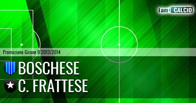 Boschese - Frattamaggiore Calcio