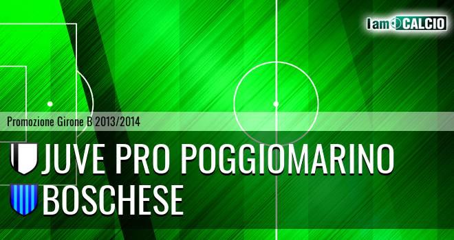 Juve Pro Poggiomarino - Boschese