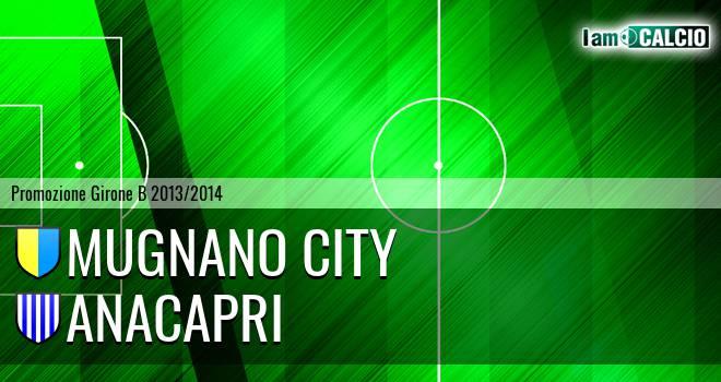 Mugnano City - Real Anacapri 2018