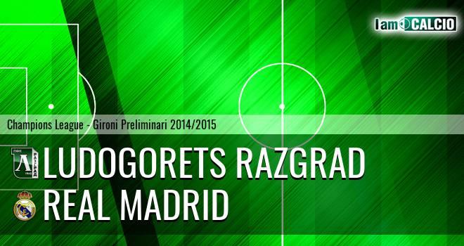 Ludogorets Razgrad - Real Madrid