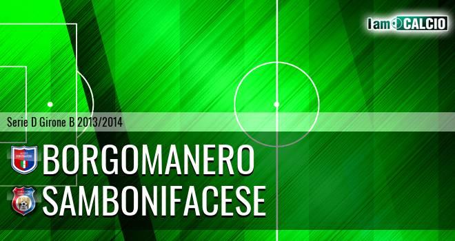Borgomanero - Sambonifacese