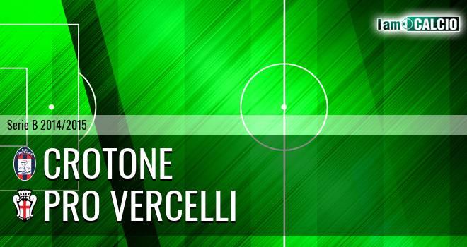 Crotone - Pro Vercelli