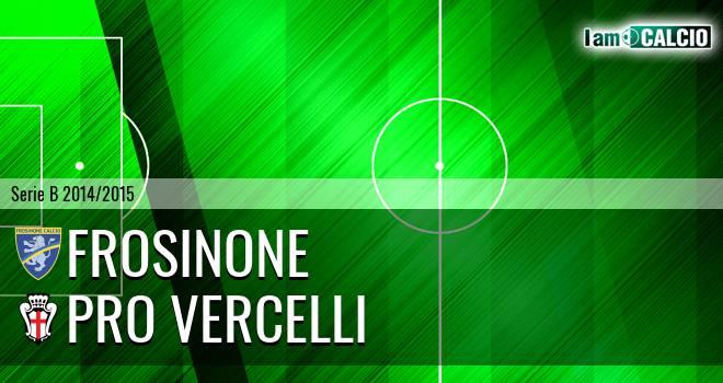 Frosinone - Pro Vercelli