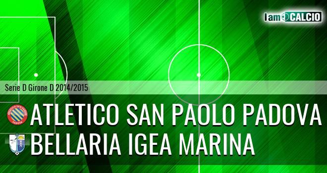 Atletico San Paolo Padova - Bellaria Igea Marina