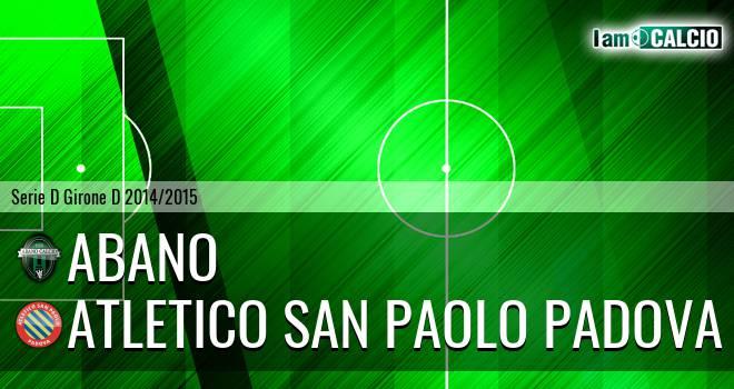 Abano - Atletico San Paolo Padova