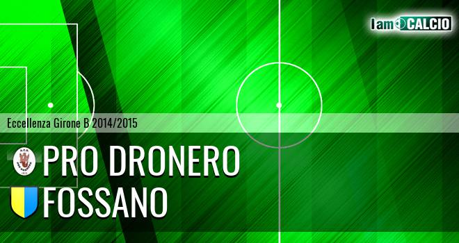 Pro Dronero - Fossano