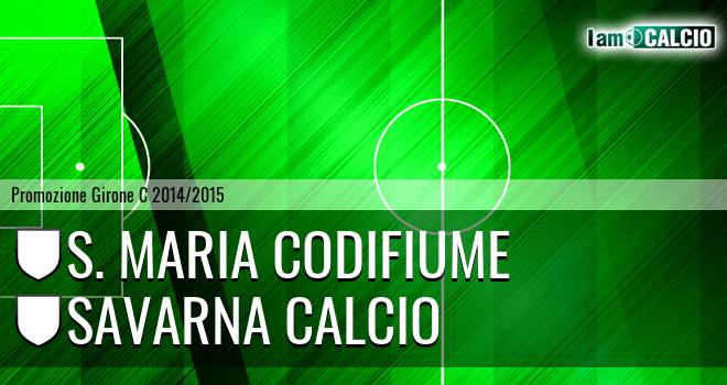 S. Maria Codifiume - Savarna Calcio