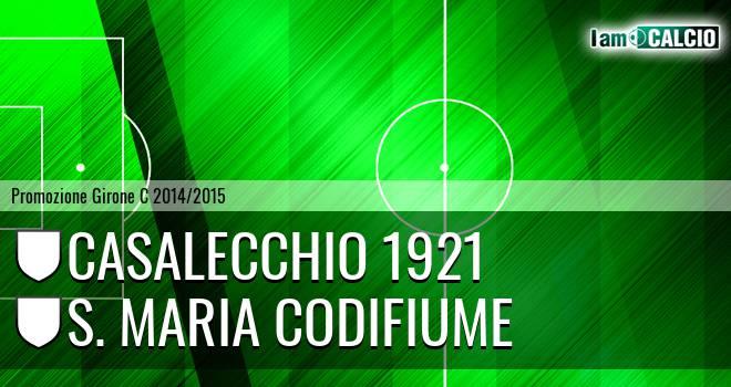 Casalecchio 1921 - S. Maria Codifiume