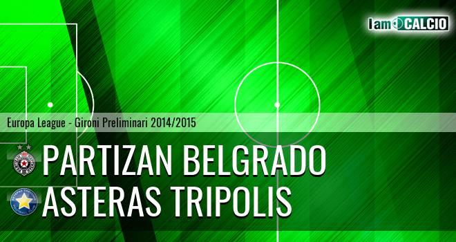 Partizan Belgrado - Asteras Tripolis