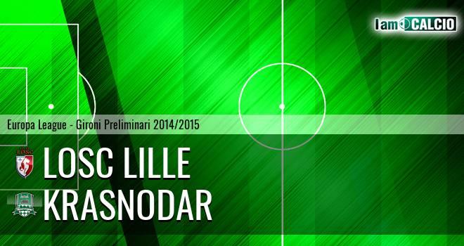 LOSC Lille - Krasnodar
