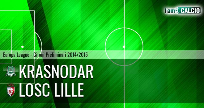 Krasnodar - LOSC Lille