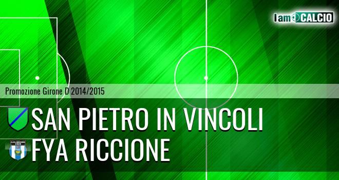 San Pietro in Vincoli - Fya Riccione