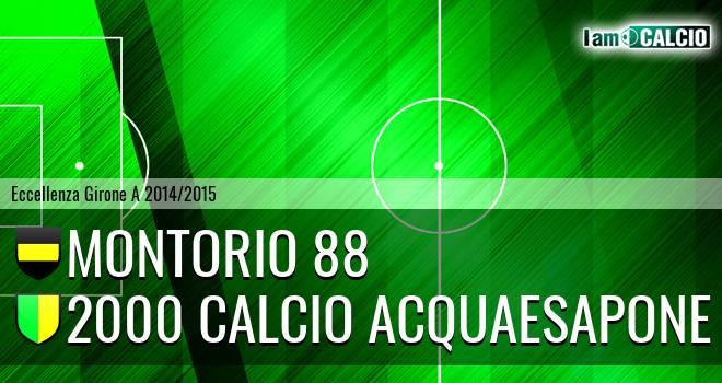 Montorio 88 - 2000 Calcio Montesilvano