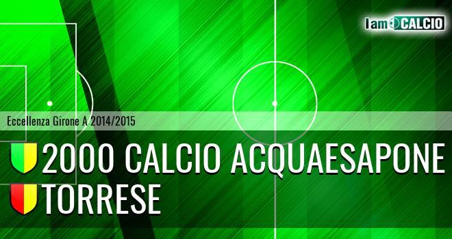 2000 Calcio Acquaesapone - Torrese