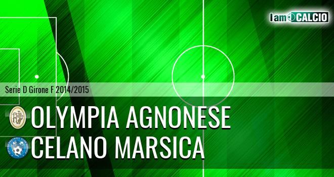 Olympia Agnonese - Celano Marsica