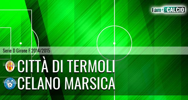 Calcio Termoli 1920 - Celano Marsica
